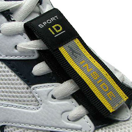 diabetes medical shoe ID tag