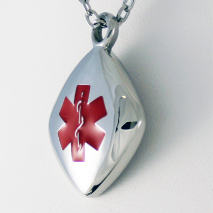 diabetes medical ID pendant
